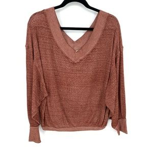 We The Free Oversized Dolman Pullover Sweater Top